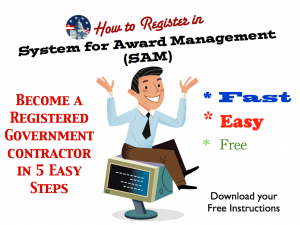 HOW TO REGISTER IN SYSTEM FOR AWARD MANAGEMENT