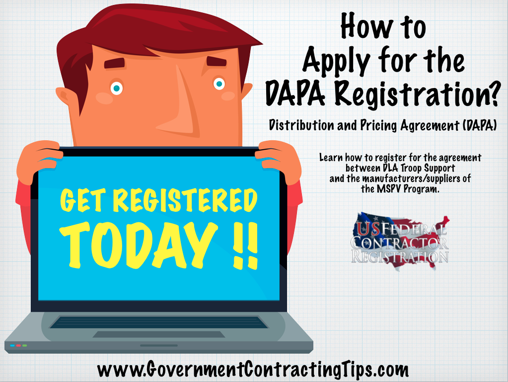 Distribution and Pricing Agreement (DAPA) Registration