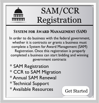 SAM/CCR REGISTRATION