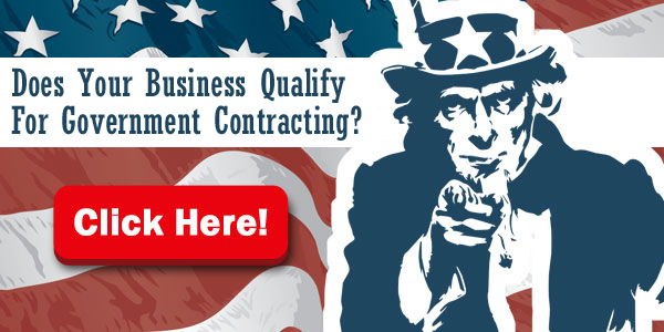 Does Your Business Qualify For Government Contracting?
