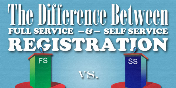 The Difference Between Full Service & Self Service Registration