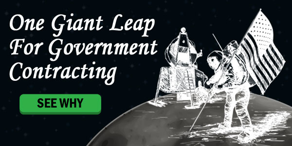 One Giant Leap For Government Contracting