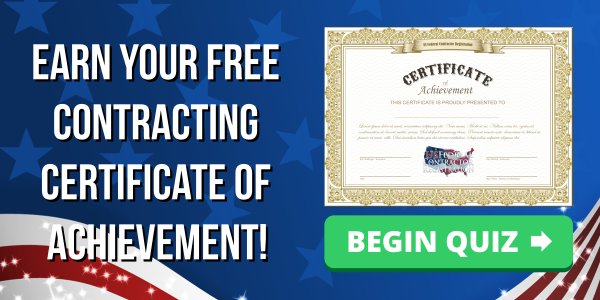 Government Contracting Quiz