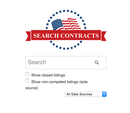 SEARCH GOVERNMENT CONTRACTS