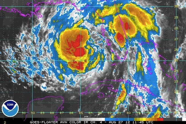 Tropical Storm Issac Hurricane FEMA